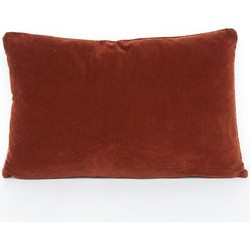 Cushion - vintage velvet sequoia