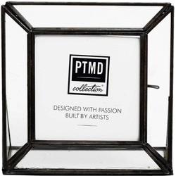 PTMD Kayan black Photoframe  16 x 5.0 x 16 cm