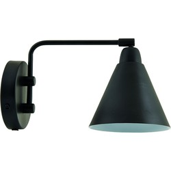 House Doctor Wandlamp Game Zwart /  wit