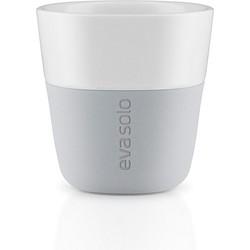 Eva Solo Marble Grey Café lattekop 80 ml - Set van 2
