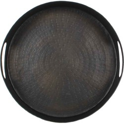 Casa Vivante dana tray zwart maat in cm: 7,5 x 32