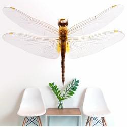 Grote libelle - 300x300 cm (BxH)