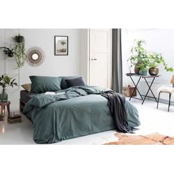 Dekbedovertrek The New Vintage 140x200/220 cm groen