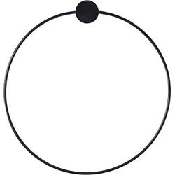 Ferm Living Handdoekhouder Ø 20,5 cm - Zwart