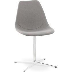 Kokoon Nyoro design stoel - grijs