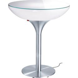 Moree Lounge 105 Verlichte Bartafel Outdoor - Wit
