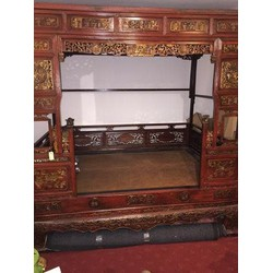 Fine Asianliving Antiek Chinees Bed