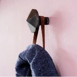 Industriele deurknop, set van 2