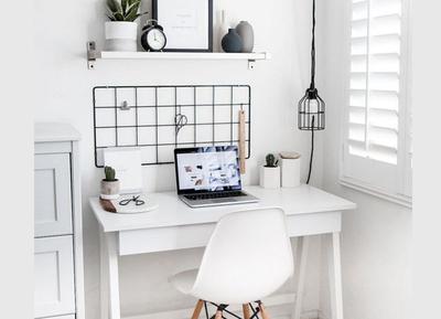 Zo creëer je thuis een werkplekje in Scandinavische stijl