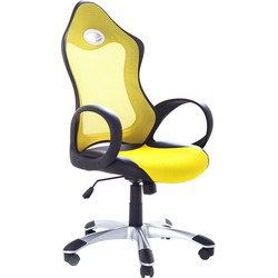 Computerstoel - Burostoel - Bureaustoel - iChair geel