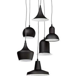Kokoon Pengan hanglamp - zwart