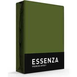 Essenza Hoeslaken Premium Jersey Moss-180/200 x 200/210/220 cm