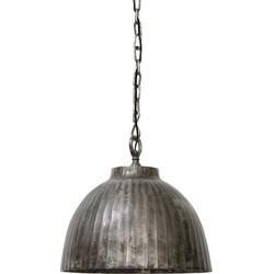 Hanglamp Ø45x42 cm KYRIE zwart parelmoer