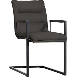 MX Sofa Eetkamerstoel Wizz Donkergrijs