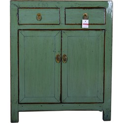 Fine Asianliving Antique Chinese Small Sideboard Hand Painted Mint -