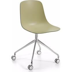 Infiniti Bureaustoel Pure Loop Binuance - Kaki Groen/Olijf Groen