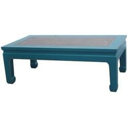 Fine Asianliving Fine Asianliving Chinese Salontafel Blauw Bamboe