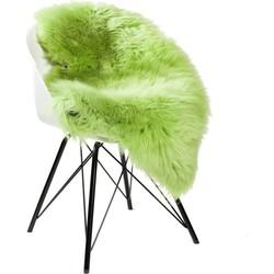 DYRESKINN ® Schapenvacht Apple Groen 90-110cm