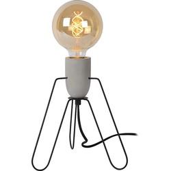 Lucide Semih Tafellamp Metaal 26,5 cm - Zwart