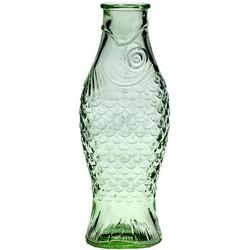Serax Fish & Fish Carafe - 1L - H 29 cm. Transparent green