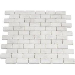 Mugla White Tumbled 2,3 x 4,8 x 1 cm