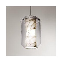 Lee Broom Chamber Large Ceiling Light, White