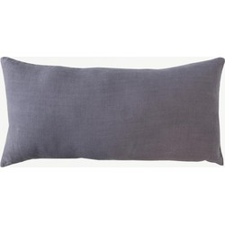 Urban Nature Culture cushion linen Comporta purple ash