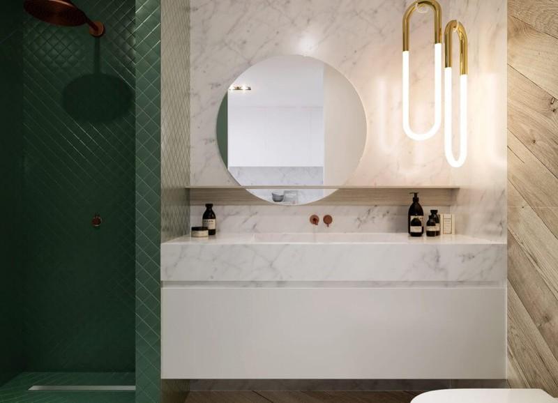 Alles Voor Badkamer : Inspiratie groen in de badkamer alles om van je huis je thuis