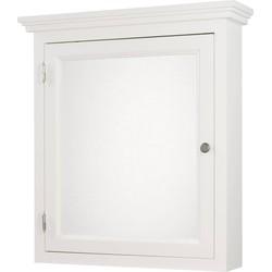 Ben Maison spiegelkast 1 deur linksdraaiend 78x85cm Wit