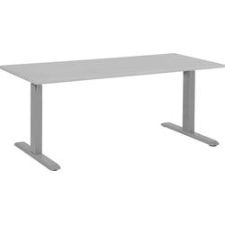 Bureau elektrisch hoogte verstelbaar in grijs 180 x 80 cm. UPLIFT II