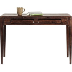 Kare Design Bureau Brooklyn Walnut - 110x40x76 - Sheesham Hout