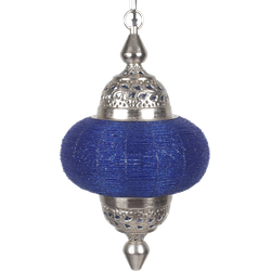 Hanglamp Arabesque klein Blue