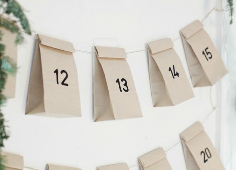 DIY: kalender met goede voornemens