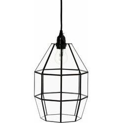 Hanglamp Felix zwart 32cm