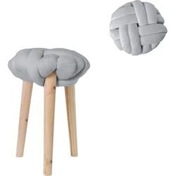 Tabouret - kruk - grijs