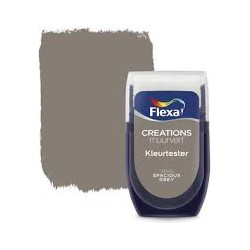 Muurverf Tester Spacious Grey 30 ml