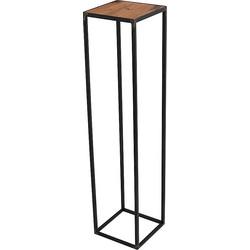 Spinder Design John Bijzettafel Blacksmith Eikenhout - 90 cm