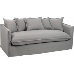 Cushions - Sofa - met kussens - linnen - grijs