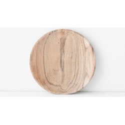 Plate Acacia Wood - Ø13 cm