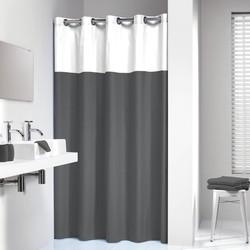 Sealskin Douchegordijn Textiel Double 200 x 180cm Grijs