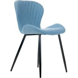 O-form - stoel Kim - blauw