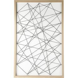 Dresz Fotoframe met elastiek - 50x78cm - hout