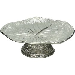 Kersten etagère Leaf zilver 10x33x33cm