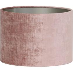 Kap cilinder 22-22-27 cm GEMSTONE oud roze