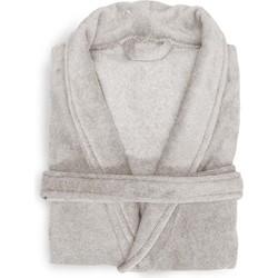 Badjas Mel taupe grey - 100% Polyester