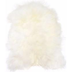 HK living schapenvacht kleed wit 90 x 55
