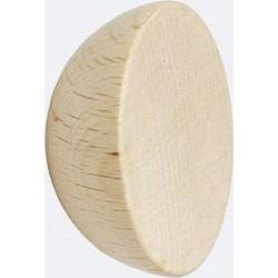 Round Beech Wood Wall Hook