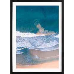 Waves Poster (21x29,7cm)