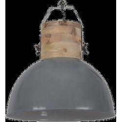 Hanglamp Fabriano Diameter 50 cm Glans Donker Grijs