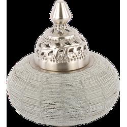 Tafellamp Arabesque klein zilverkleurig